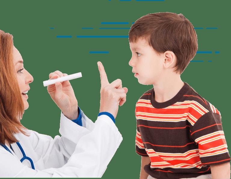 Child friendly eye exam