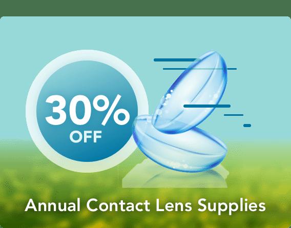 Annual Contact Lens Supplies