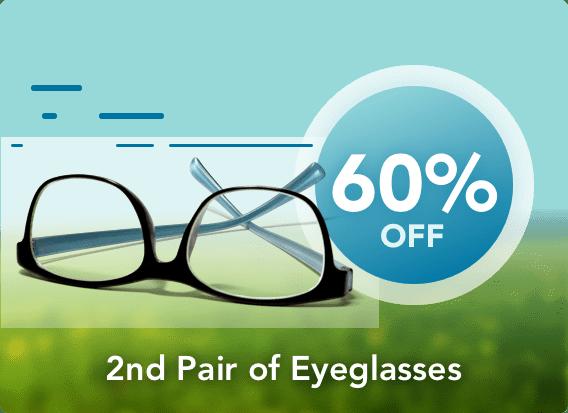Second pair of eyeglasses