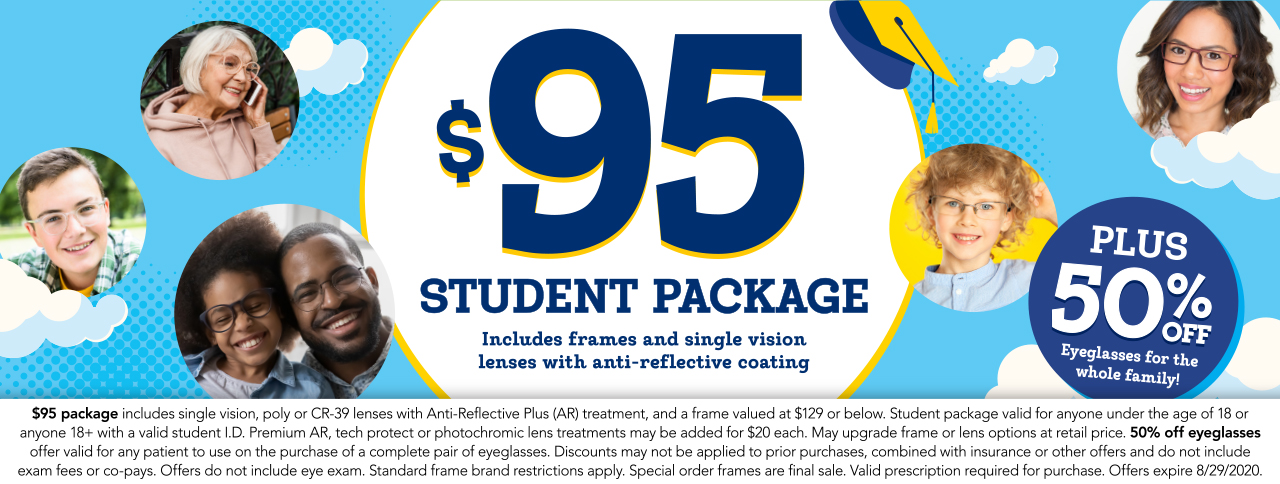 $95 Student package