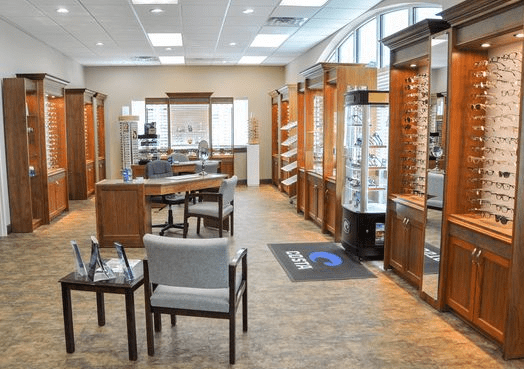 Photo of Holcomb's optical shop