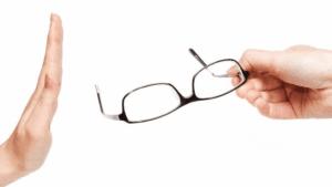 Glasses? No thanks